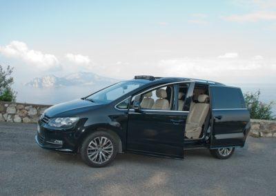 luxury car for events sorrento and amalfi coast